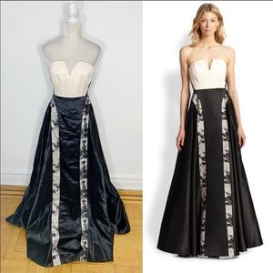 ALICE + OLIVIA embroidered lace Dalya ball gown